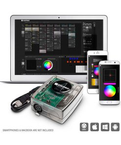 Pack Software Controler e Interface DMX 512 Canais Cameo