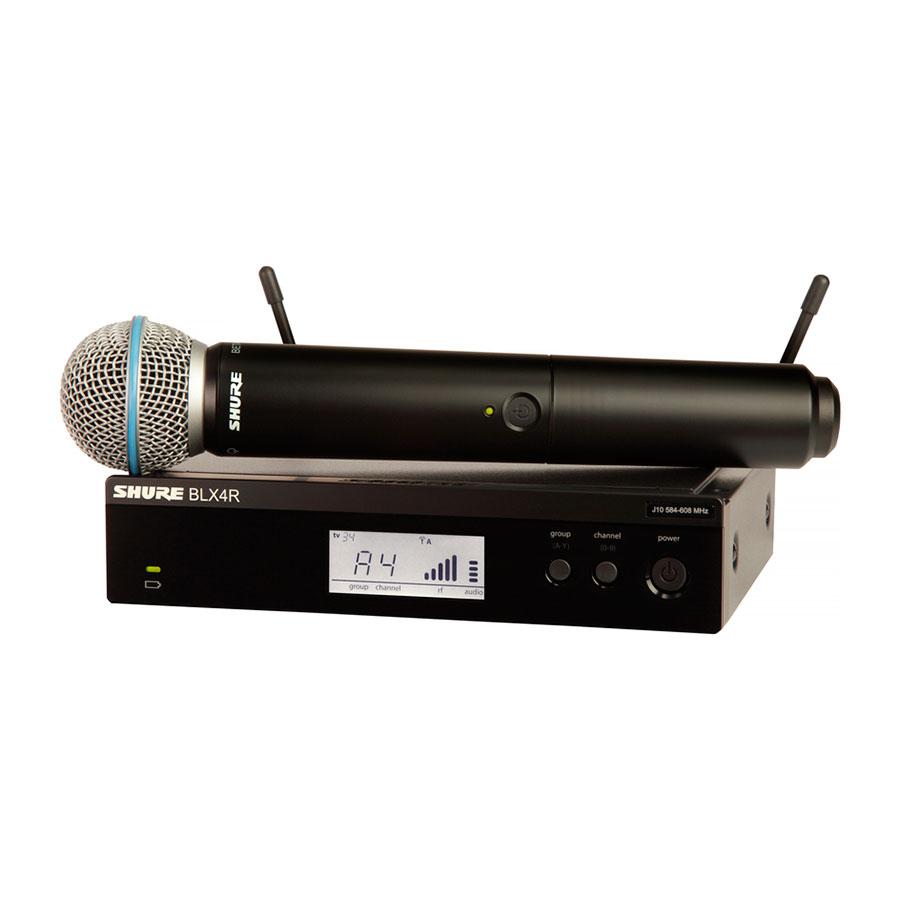 Microfone Shure BLX24RE/Beta58