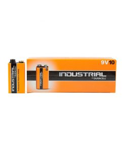 Pilhas Duracell Industrial 9V pack 10