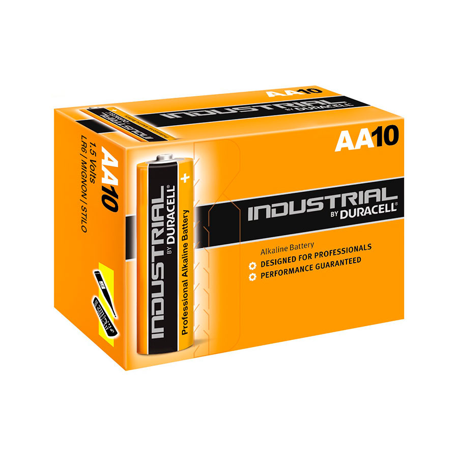 Bateria Duracell Industrial AA   10 Pack