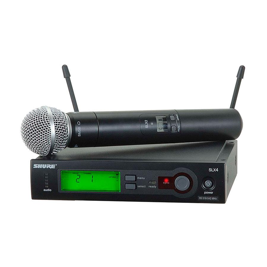 Microfone Shure SLX24/SM58